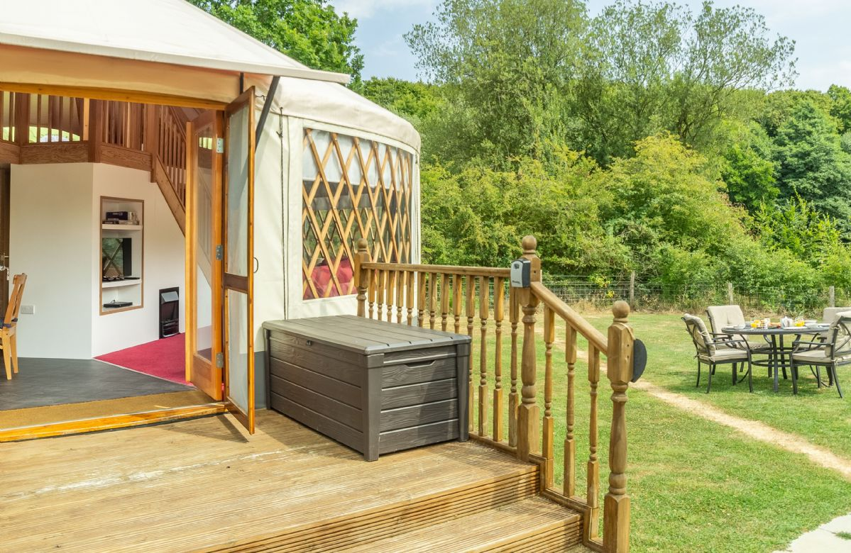 Click here for more about Ash Yurt