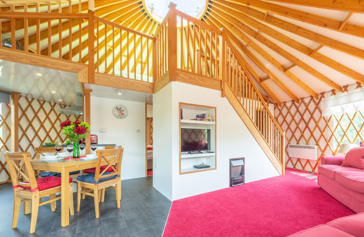Ash Yurt is located in East Hoathly