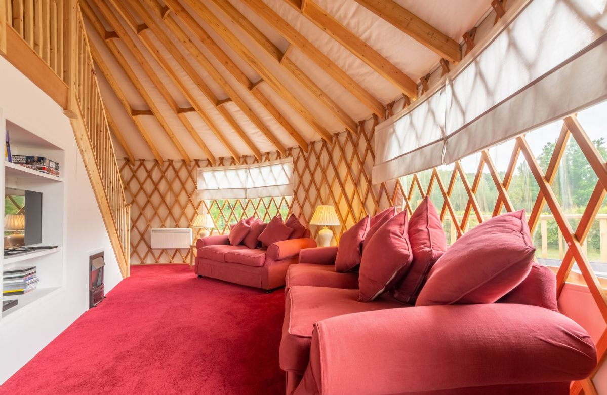 Willow Yurt is located in East Hoathly